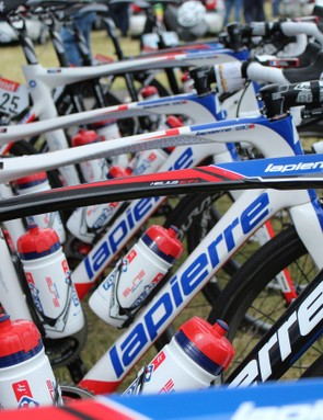 FDR.fr are racing Lapierre's Helius Efi and Aircode