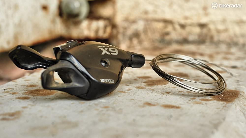 SRAM X9 10-speed shifter