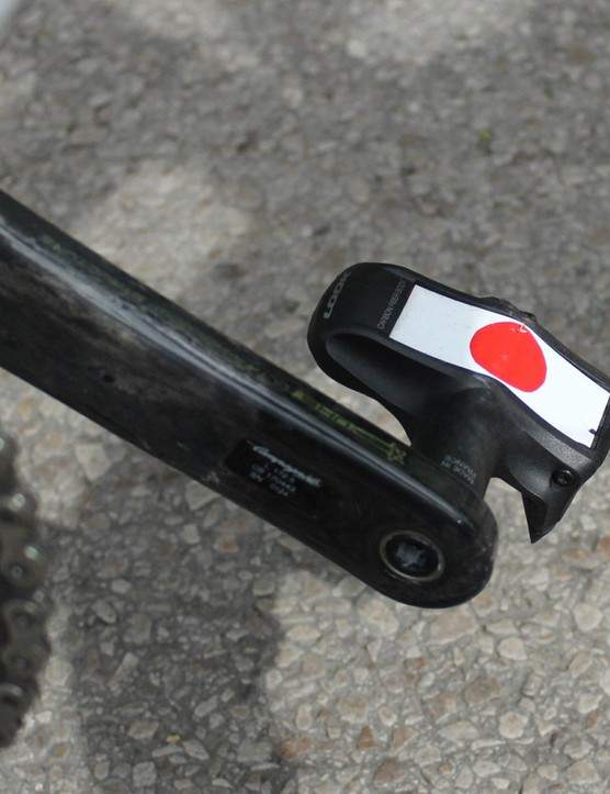 Look Keo pedals with a special touch