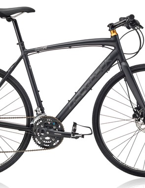 The Ridgeback Flight 01 is a hybrid that shares more in common with a road bike than a mountain bike