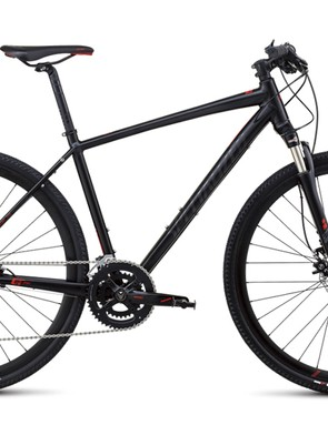 The Specialized Crosstrail is an example of a hybrid that is closer to a mountain bike than a road bike