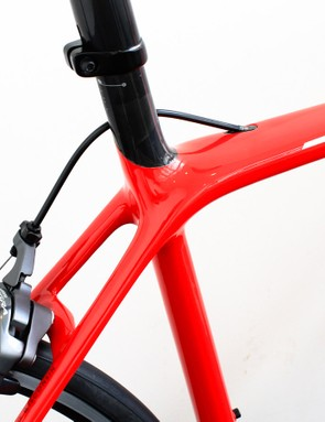 The Emonda's frame is an entirely new design