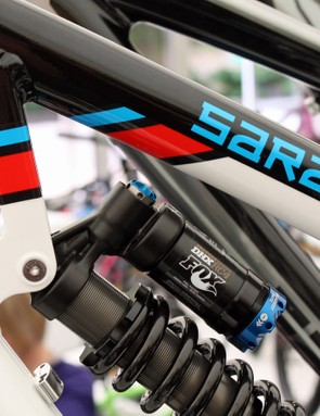 Many of Saracen's frame-only paint schemes are inspired by famous motorsport liveries
