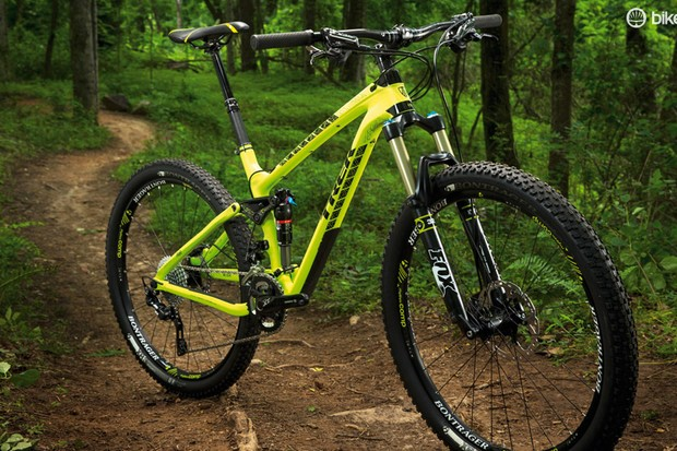 The Fuel EX 27.5's purposeful stance is backed up by its performance on the trail