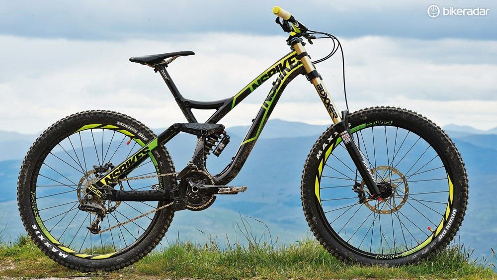 The Fuzz is NS's first foray into downhill bikes, and it's one hell of a debut