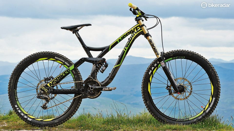 4a94e5e3c90 The Fuzz is NS's first foray into downhill bikes, and it's one hell of a