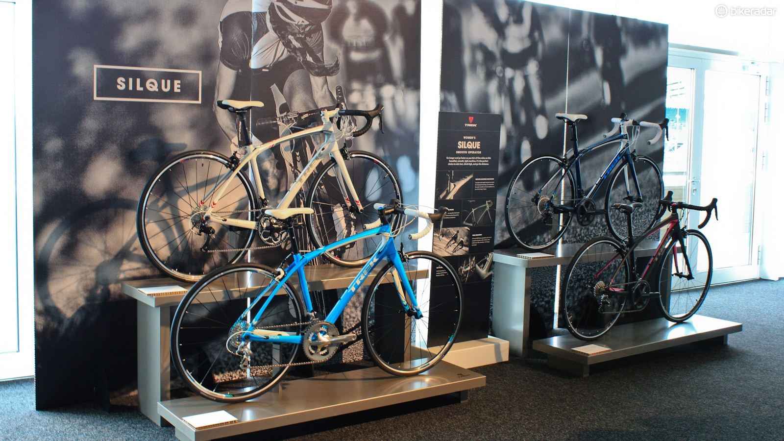 The Silque is an all-new carbon road bike developed specifically for women
