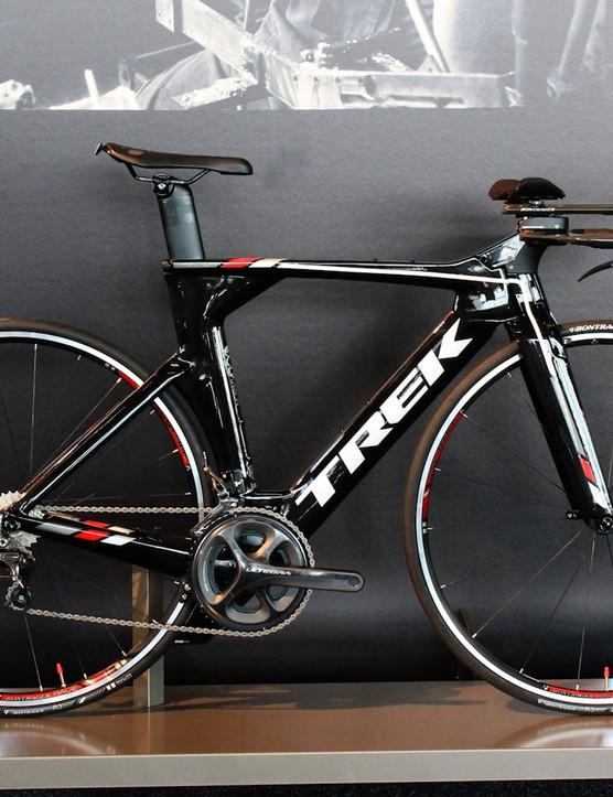 The Speed Concept line of TT/triathlon machines has seen minimal changes this year