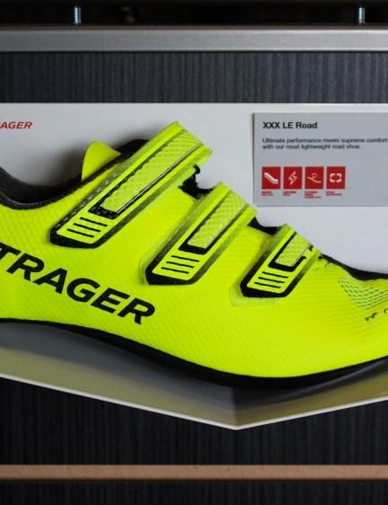Bontrager has debuted a new top-end, high-vis XXX LE shoe