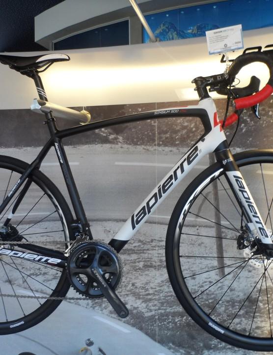 The all-new Sensium 500 Disc road bike