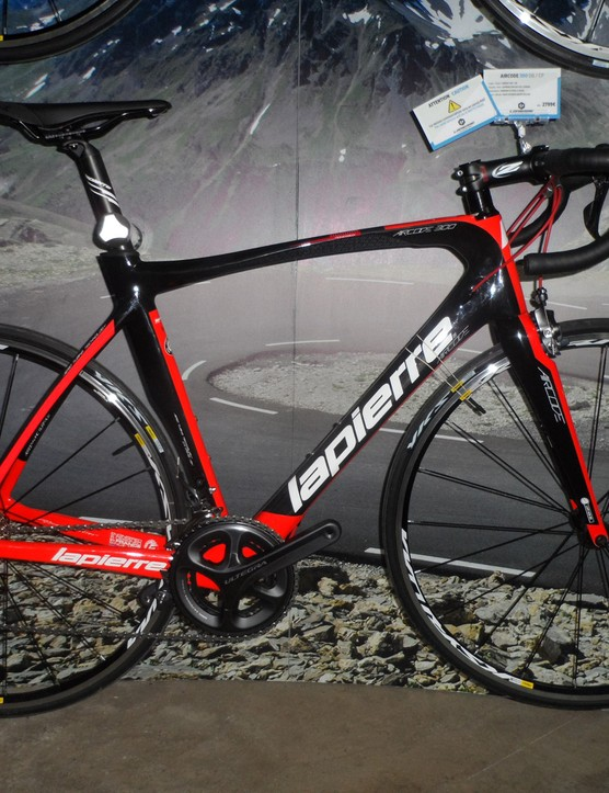 The €2,799 Aircode 300 comes with mechanical Ultegra and Kysrium Equipe wheels