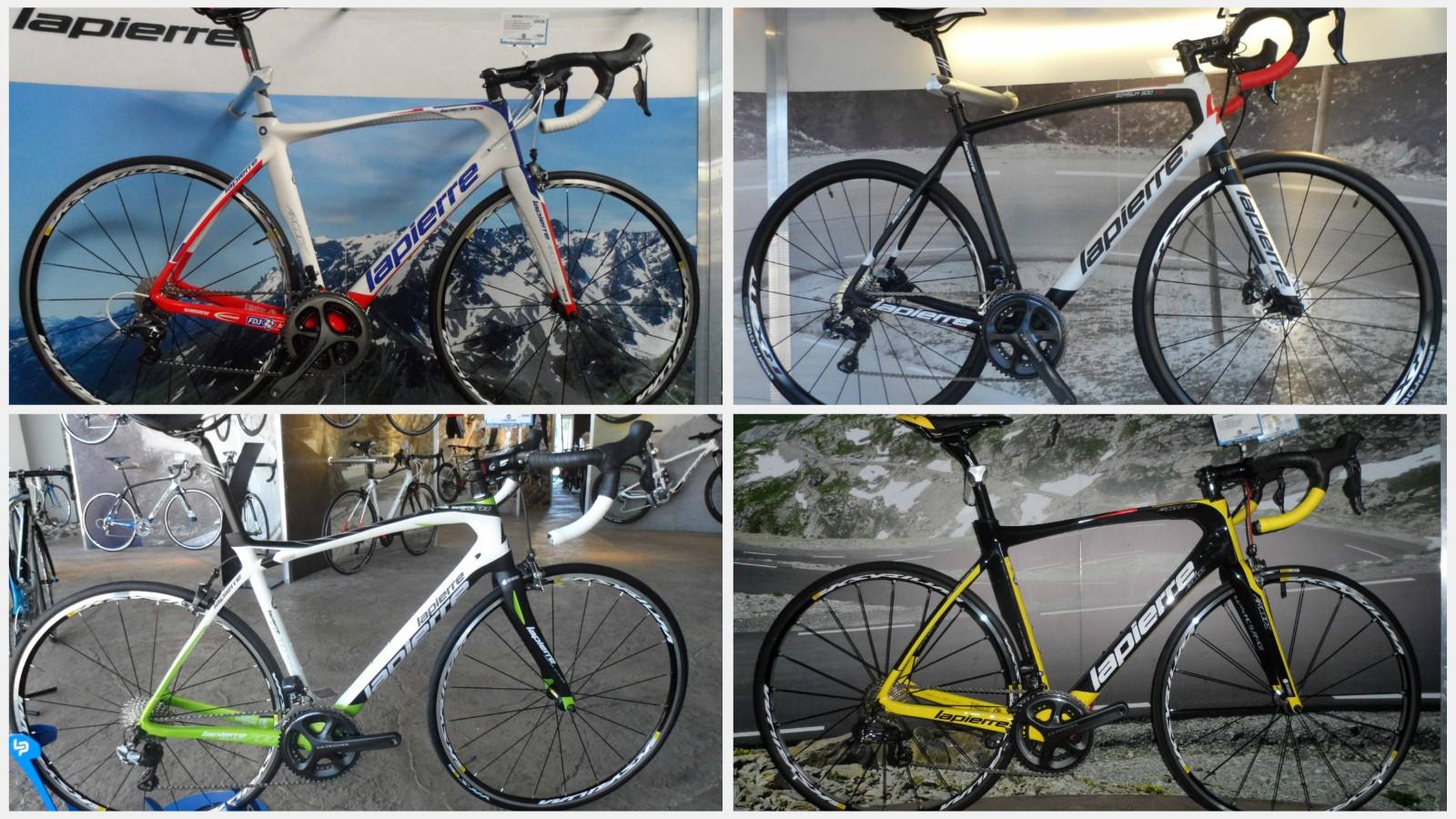 Lapierre 2015 road bikes - first look