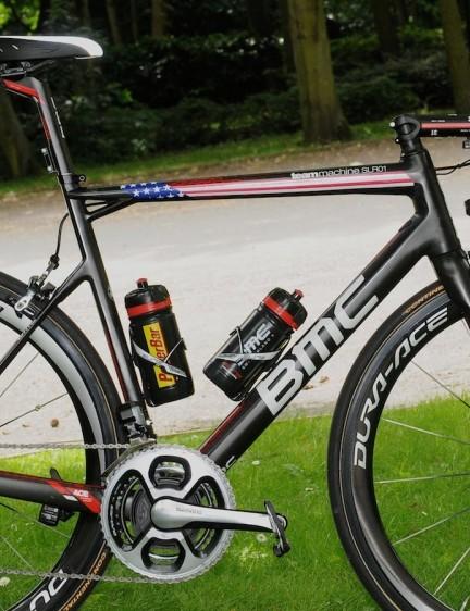 BMC team leader Tejay van Garderen's SLR01