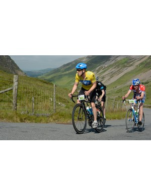 Snowdonia offers a stunning backdrop for the Etape Extrem