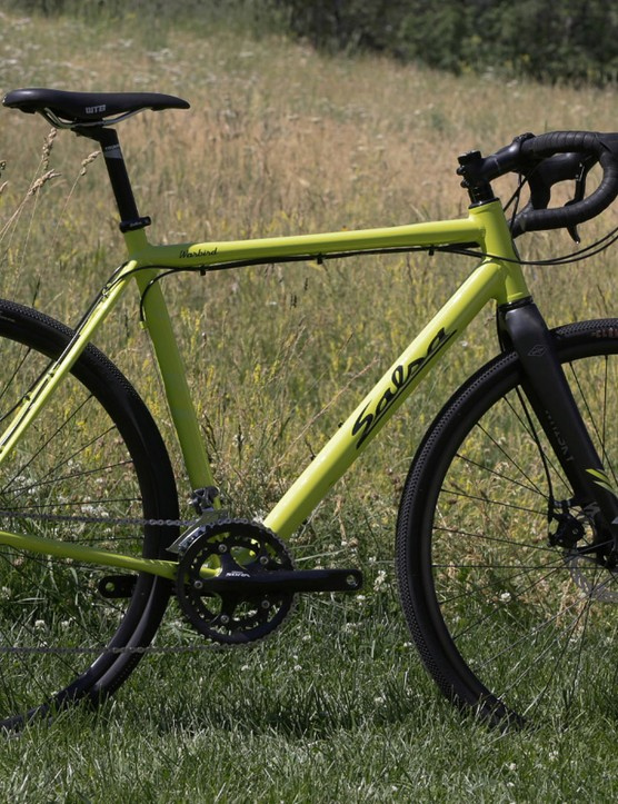 Salsa's gravel racer, the Warbird, remains unchanged