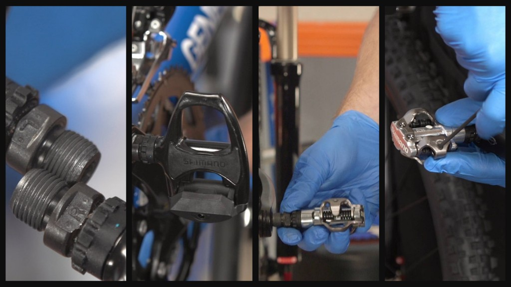 Try to keep both cleats and pedals clean and free from grime