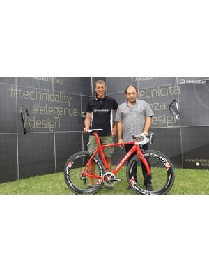 Maurizio Fondriest shows off the new TF2 1.5