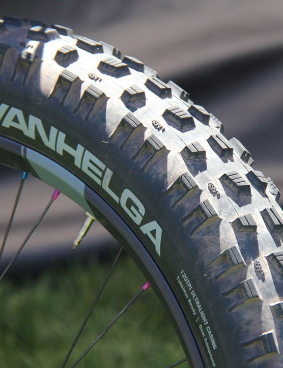 45NRTH new fat bike tire, the Vanhelga, will be available in September