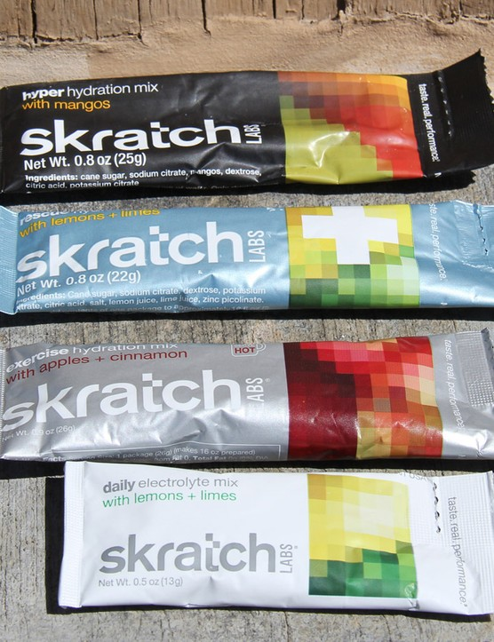 Skratch Labs makes an electrolyte mix for every activity level