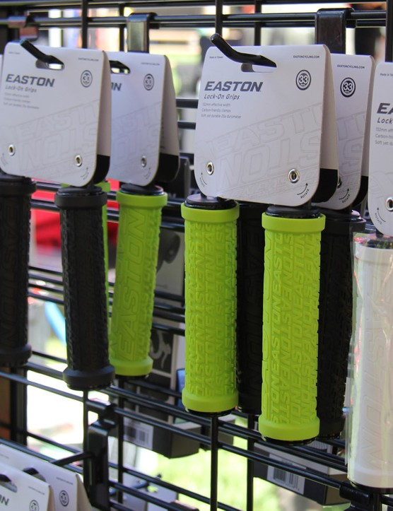 Easton now has a line of grips to match its handlebars