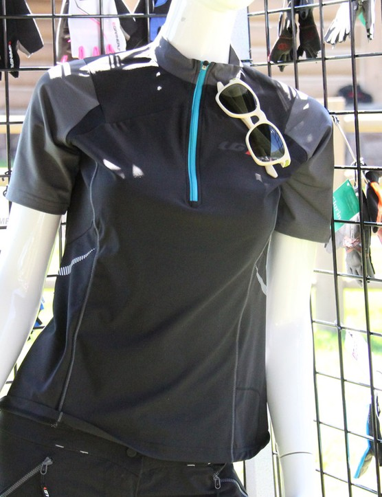 Louis Garneau is adding 10 new styles to its mountain bike collection, including the women's Epic jersey shown here