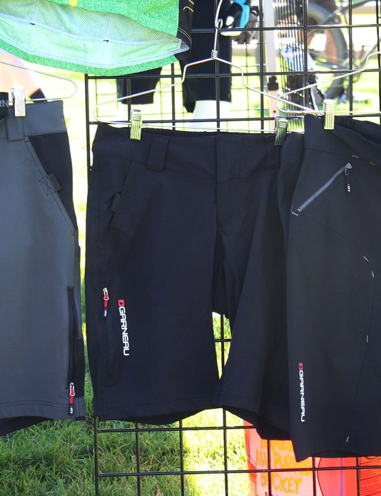 Louis Garneau is better known for its road apparel, but its putting more energy into its mountain bike line. For 2015 it will offer three levels of baggy shorts ranging in price from US$80-US$150