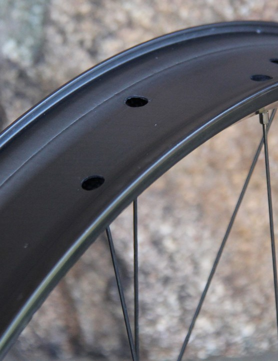 Whisky's No. 9 carbon fat bike rim has a claimed weight of 560g and an internal width of 65mm. It will be available this August and will retail for US$599 (per rim)