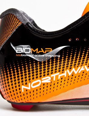 Northwave claims its Biomap technology enables shoes to accommodate a wide range of foot shapes