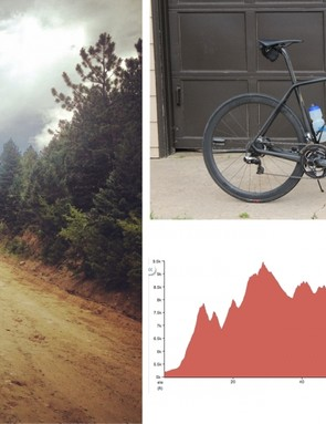 With 13,400ft of climbing over 107mi, is this bike the right tool for the job?