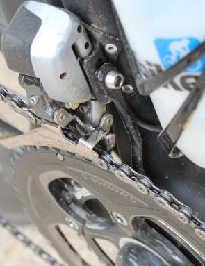 A chain catcher can't hurt, especially with non-standard gearing