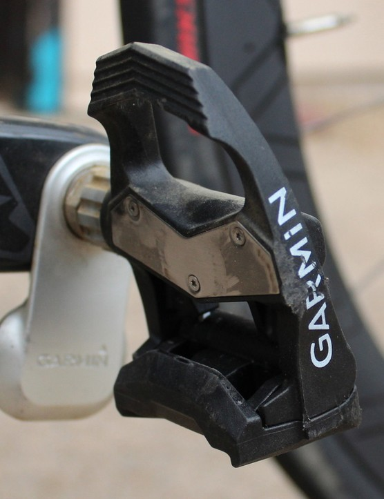 Garmin Vector pods ain't pretty, but the ease of installation is pretty handy for a power meter