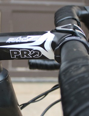 The PRO Vibe 7s stem was just swapped in for fit
