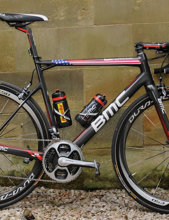BMC team leader Tejay van Garderen's Teammachine SLR01