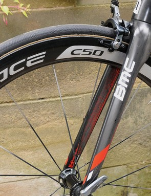 The Shimano C50 tubular wheelset is van Garderen's everyday choice for flatter stages