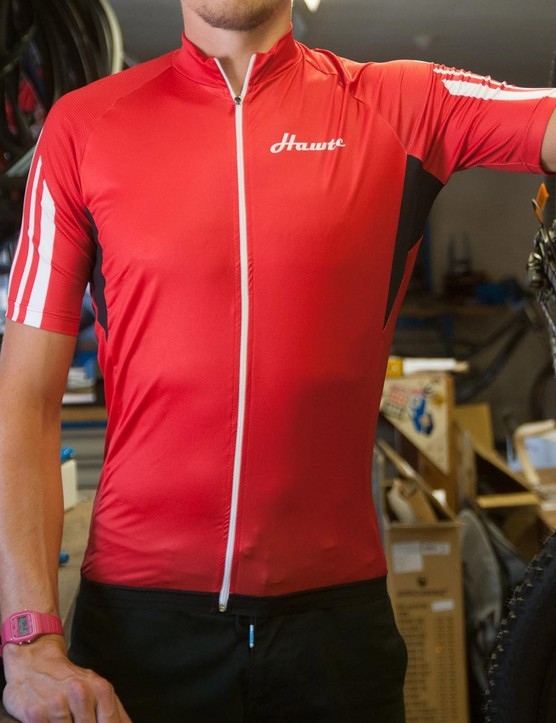 Hawte's 53/11 jersey is designed for riders over 5ft 10in