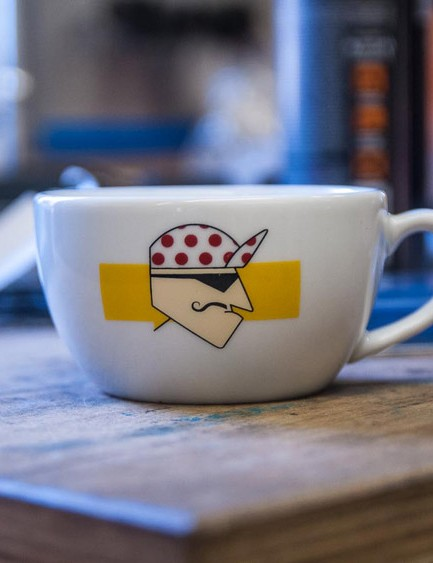 Edinburgh Bicycle coffee cup