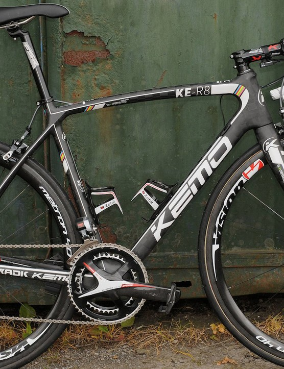 Both Bretagne-Seche Environnement and Kemo bikes have made their Tour de France debut in 2014