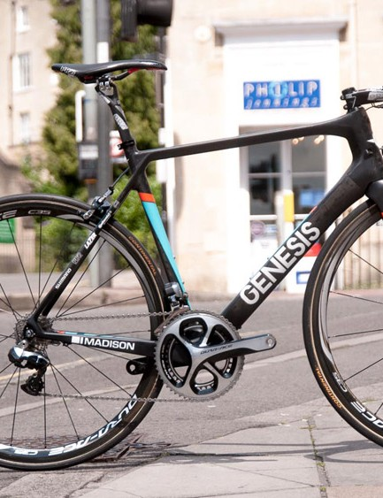 This is the £4,499 Team Issue Zero, but prices for the same chassis start at just £1,299.99 for the Tiagra model