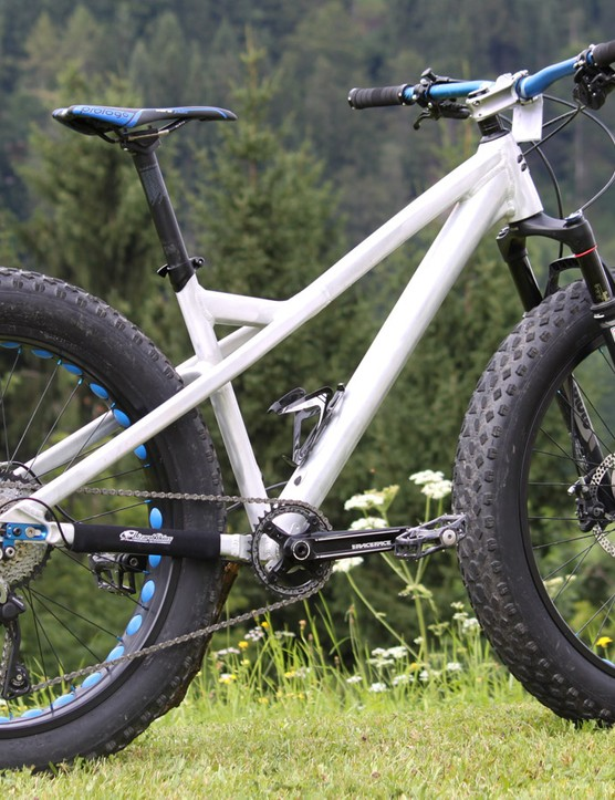 Rose Tusker fat bike 2015