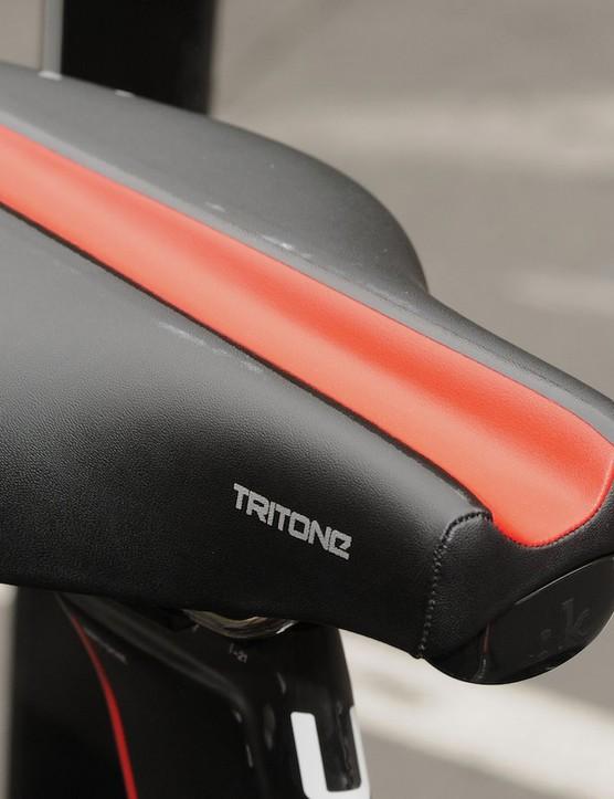 Fizik's TT specific Tritone appeared on a few rigs