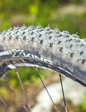 Continental X-Kings have their limitations in damper conditions
