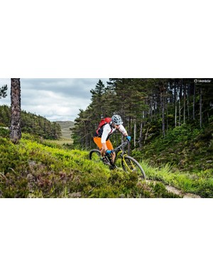 Rapid fire handling and taut suspension make for a focused race bike that can hack the trail too