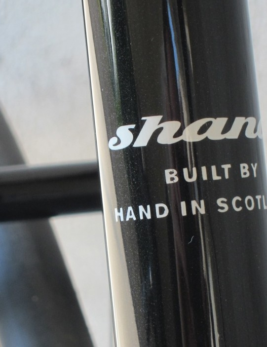 Though of Japanese heritage, this bike is proud to be a Scottish collaboration