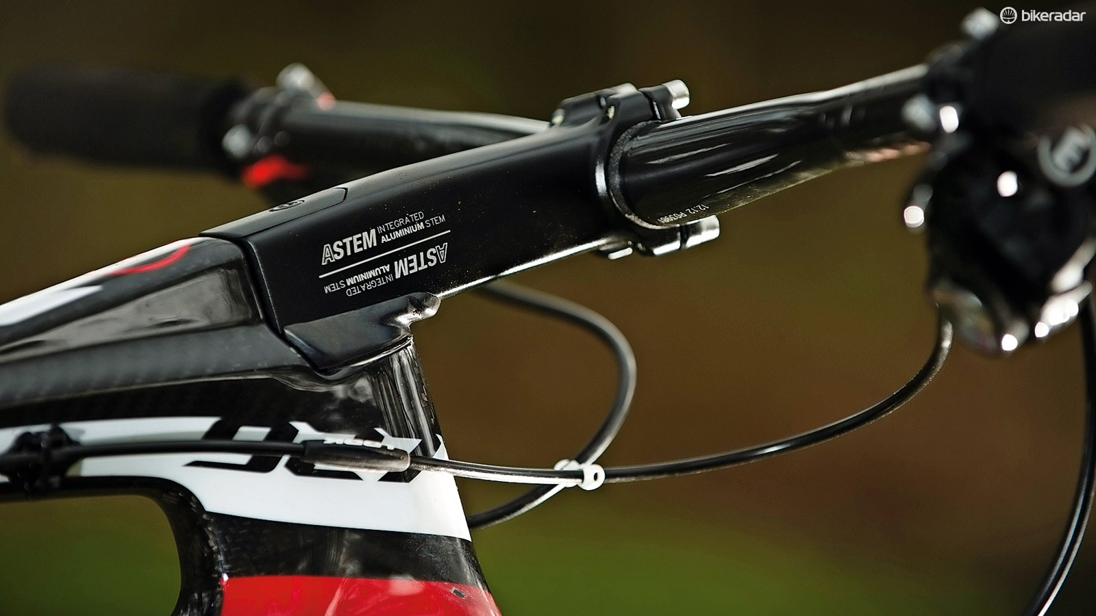 The stock 110mm stem is long enough to put you into next week, so use the 90mm