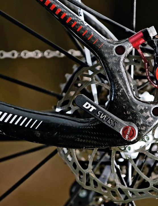 Trunnion-equipped Post Mount brakes means frame longevity, even for the hamfisted