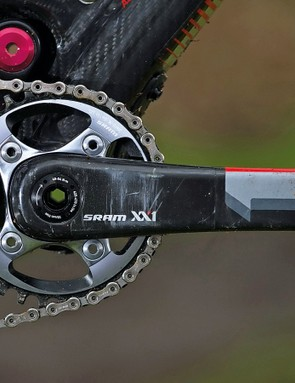 Stiff cranks just serve to highlight frame twist