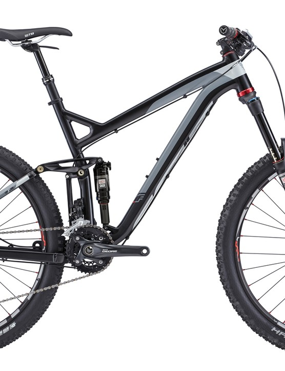 Felt will outfit both the top-end Compulsion and this second-tier model with RockShox's superb Pike fork