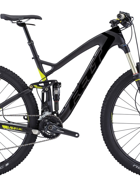 US$3,499 will get you the new Felt Virtue 3, complete with 29in wheels, 130mm of travel, a UHC Performace carbon frame, a KS dropper post, and a Shimano Deore/Deore XT build kit