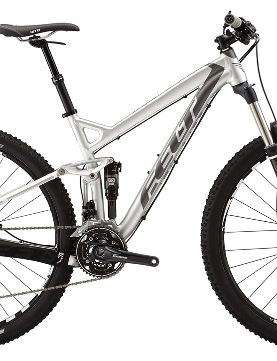 Riders seeking a 130mm-travel 29er trail bike that prefer the durability an economy of aluminum can look to the Felt Virtue 50