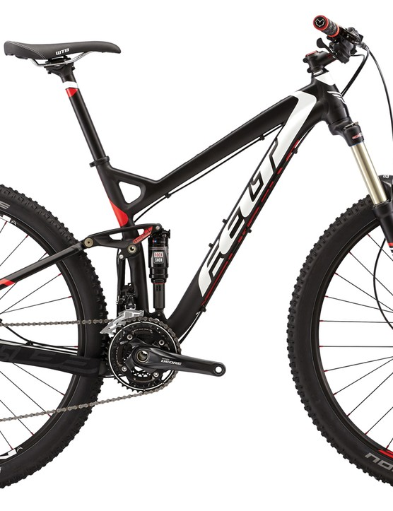 The Virtue 60 is Felt's least expensive 29er trail bike at US$1,999. It comes with a 3x10 drivetrain but Felt would argue that riders at this level might prefer the extra-wide range